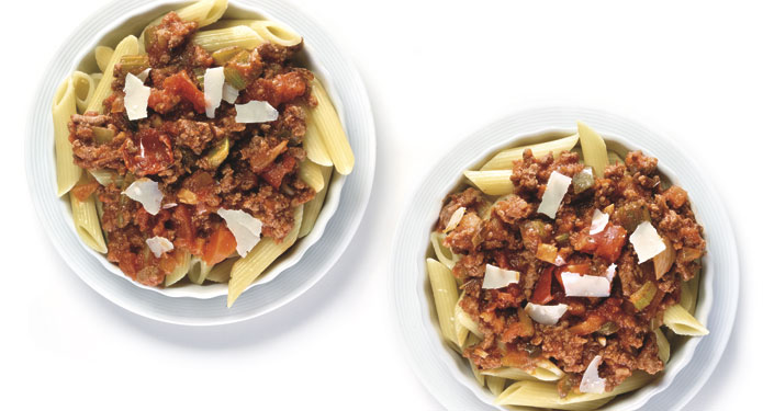 Penne Bolognese Healthcare Foodservice Recipe